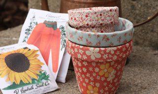 DIY : comment customiser les pots de fleurs avec du tissu ?