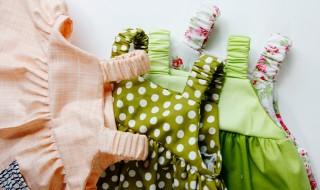 DIY : une petite robe super girly pour bébé