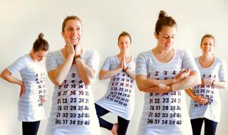 Le tee-shirt pour compter les jours avant l'arrivée de bébé : on vous explique comment le fabriquer