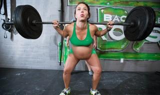 Enceinte et accro à la musculation !