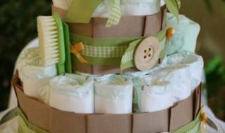 DIY: un gâteau de couches pour ma Baby shower