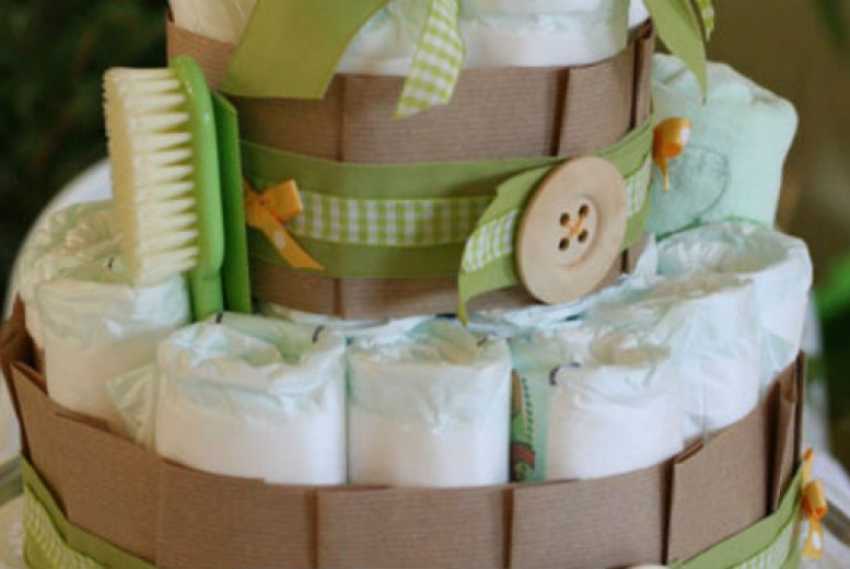 diy un g teau de couches pour ma baby shower. Black Bedroom Furniture Sets. Home Design Ideas