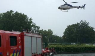 Accouchement réussi grâce à l'intervention d'un hélicoptère