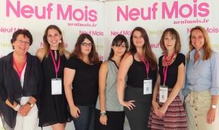 La famille Neuf Mois réunie au Salon Babycool 2015
