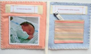 DIY : un livret de naissance pour conserver de doux souvenirs