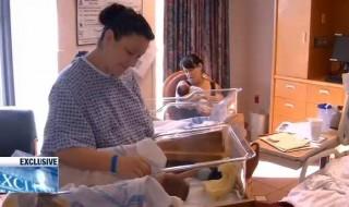 Quand mère et fille accouchent le même jour dans le même hôpital!