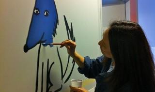 Le service de pédiatrie de l'hôpital Necker transformé grâce à de jolis dessins pour les enfants