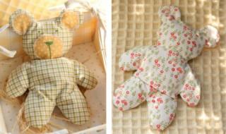 DIY: un ourson tout doux pour bébé