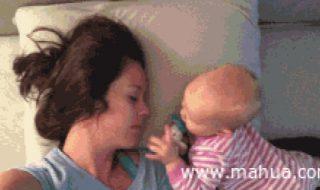 Quand bébé ne veut pas comprendre que vous avez vraiment besoin de repos