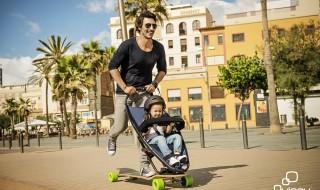 La poussette Skateboard de Quinny arriveen France !