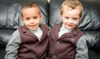Des jumeaux … de couleurs différentes !