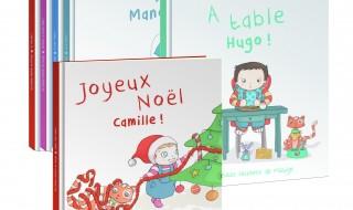 A gagner aujourd'hui : deux livres à personnaliser Mistigri : «Joyeux Noêl» et «A table»