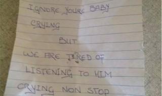 Un voisin en veut à son bébé, mais pourquoi ?
