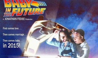 L'annonce de grossesse «Un bébé dans le futur» !