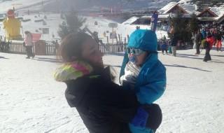 Neuf Mois a reçu la photo du plus mignon champion de ski