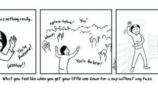 Ces 12 dessins qui illustrent parfaitement la vie des parents la première année vont-ils vous parler ?