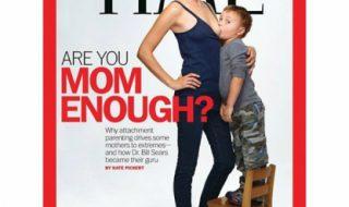 Allaitement tardif : une couverture du Time fait débat !