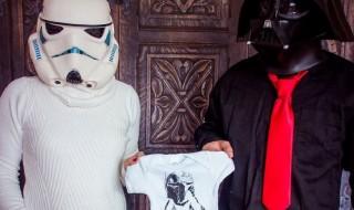 Star Wars pour annoncer sa grossesse, que la force soit avec vous !