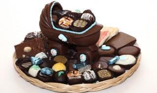 Annoncer ta grossesse avec du chocolat, trop miam !