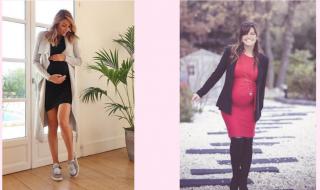 Ariane Brodier VS Laetitia Milot : quel est votre look de grossesse préféré ?