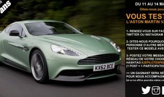 Qui veut conduire une Aston Martin?
