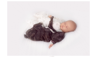 Une belle histoire d'amitié : Dylan et son chien Farley immortalisée par Ivette Ivens
