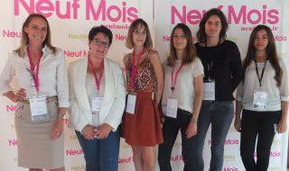 Le cocktail de la team Neuf Mois, encore un franc succès au Salon Babycool 2016 !