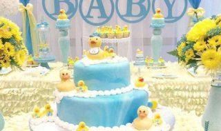 10 idées pour animer une baby shower au milieu de mignons petits canards