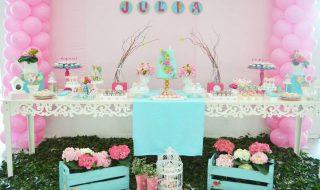 10 jolies idées pour mettre en scène une baby shower esprit «Garden Party»