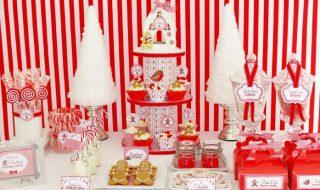 10 idées lumineuses pour décorer une baby shower au cœur de la magie de Noël
