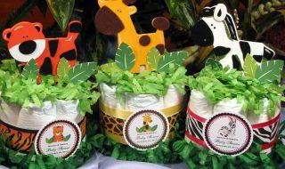 9 idées rugissantes pour organiser une baby shower au cœur de la jungle