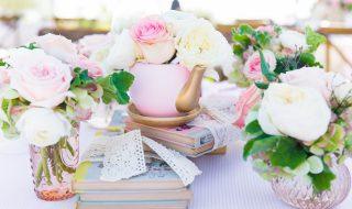 9 idées pour organiser une élégante baby shower esprit «tea party»
