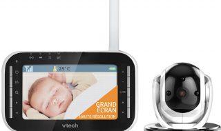 Test : Babyphone vidéo vision XL BM 4500 VTech