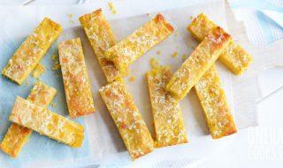 Petits bâtonnets de courgette au fromage pour bébé