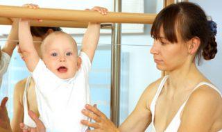Bébé à la gym