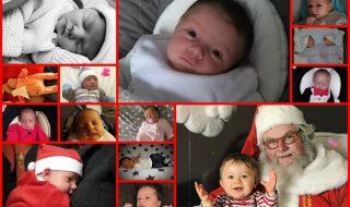 Nos bébés du mois de décembre 2017