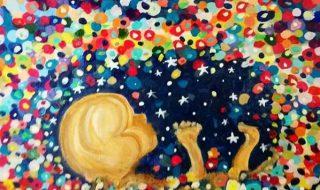 Cette maman crée de sublimes œuvres d'art grâce à ses échographies
