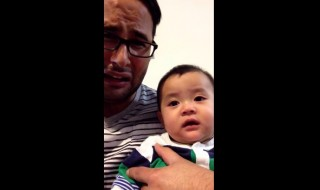 Si papa pleure, bébé aussi !