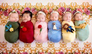 Cette maman a transformé 6 adorables bébés en véritables petites princesses Disney pour un shooting photo unique !