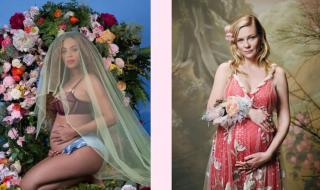 Beyoncé VS Kirsten Dunst : qui porte le mieux le look de grossesse ?
