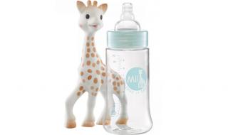 Test : Biberon Forever, Sophie la Girafe