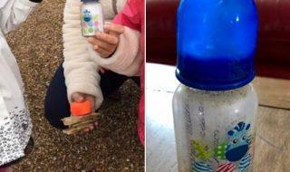 Une mère de famille trouve un biberon contenant un SOS sur la plage…