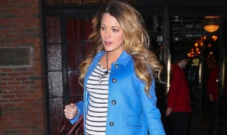 Blake Lively enceinte, on copie son look casual chic pour l'hiver