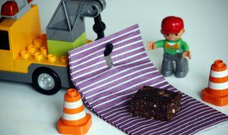 Brownies gourmands pour bébé à partir de 12 mois