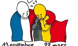 #TousEnsemble, notre soutien au peuple belge