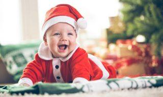 10 idées pour transformer bébé en adorable mini Père Noël