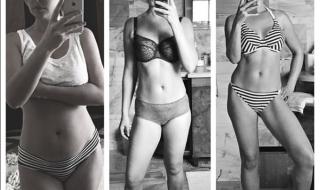 Katherine Heigl dévoile avec fierté son corps post-grossesse
