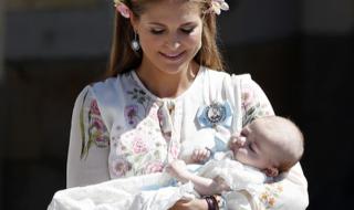Découvrez pourquoi la Princesse Leonore de Suède s'est fait remarquer pendant le baptême de sa soeur