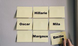 Les prénoms de la semaine