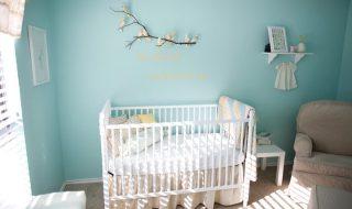 5 décorations pour chambre de bébé où chantent les petits oiseaux